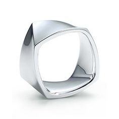 iVE BEEN drooling over this ring since Gehry collabed with tiffanys. @Michael Doyle  Frank Gehry® Torque ring in sterling silver, wide.