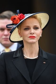 Charlene Wittstock Photos Photos - Princess Charlene of Monaco attends the Monaco National Day Celebrations in the Monaco Palace Courtyard on November 19, 2016 in Monaco, Monaco. - Monaco National Day 2016