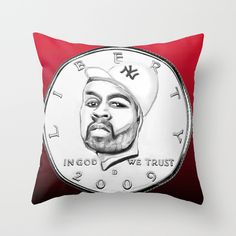 Fifty Cent(s)  Fifty cent is a famous R N B singer. I decided to turn him to a coin due to the similarity of the coin value (fifty cents).