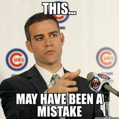 THIS... MAY HAVE BEEN A MISTAKE - Theo Press Statements | HecklerMemes.com | Sports Meme Generator