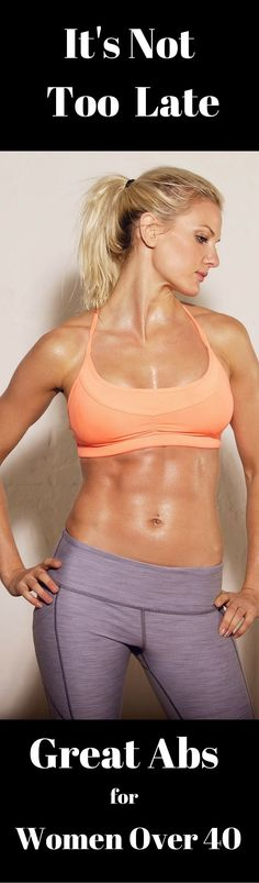 Workouts   Women over 40   Ab workouts   Fitness for women