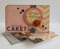 Because it's fun to create...: SOS #28 Did someone say CAKE?