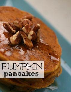 Easy Pumpkin Pancake Recipe