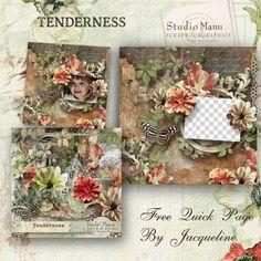 Scrapbooking TammyTags -- TT - Designer - Studio Manu,  TT - Item - Quick Page