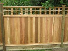 Cedar Fence, Fence Gate, Privacy Fences, Fencing, Zinnia Garden, Backyard Pergola, Backyard Ideas, Building A Fence, Pallets Garden