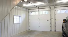 This garage was built for Brent of Hamptonville, NC Special Features: Morton's Hi-Rib Steel Morton's Energy Performer Insulation Package Cupolas...