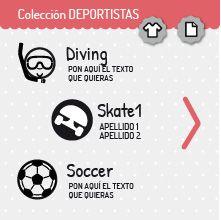 Colección DEPORTISTAS | miomiomio