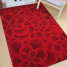 Regent Chesham Red Rug by Flair Rugs constructed by wool and is a perfect definition of vintage design with luxurious appeal. The wool fosters durability, stain-fade resistance and cost-effectiveness. Contemporary Rugs, Modern Rugs, Red Rugs, Wool Rug, Vintage Designs, Colours, Perfect Definition, Floral, Home Decor