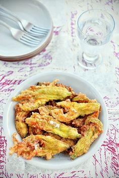 Stuffed zucchini flowers by Pieprz czy Wanilia