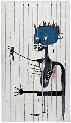 Pierre-Jean Maurel - Jean Michel BasquiatUntitled (Lung) 1986