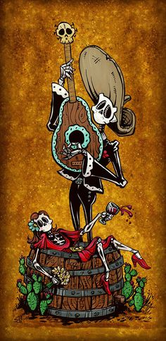 Date Night by David Lozeau | Day of the Dead