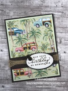 Men's Cards, Stampin Up Cards, 3d Projects, Projects To Try, It's Your Birthday, Birthday Cards, Masculine Cards, Big Shot, Sea Foam