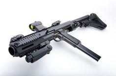 Hera 1911 Pistol to Carbine Conversion Weapons Guns, Guns And Ammo, Zombie Weapons, Airsoft Guns, Rifles, M1911 Pistol, Revolvers, Fire Powers, Cool Guns