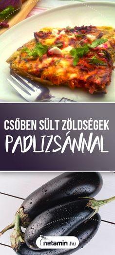 Ízletes, laktató ovo-lakto vegetáriánus egytálétel recept. Gluténmentes étel, cukorbeteg diétába is beleilleszthető, alacsony a szénhidráttartalma, mégis nagyon kiadós. Könnyen elkészíthető, fűszeres finomság Zsuzsitól! #netamin #recept #vegetarianus #vegetarianusrecept #egytaletel #fitfood #zoldsegek #csobensult #padlizsan #cekla #konnyuebed #lowcarb #mitfozzek