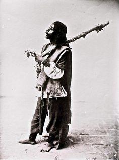 #Sufi #Dervish from the #Qajar period; #Iran.