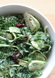 Copycat Recipe for Costco's Sweet Kale Vegetable Salad by Barefeet In The Kitchen