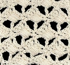 """DesigningVashti: The Blog: On Becoming a...Yarn Company? """"Zenobia Palm Stitch"""" in color Pearly Pearl."""