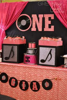 Rock & roll Birthday Party Ideas | Photo 2 of 30