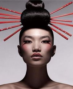 Oriental Hair Style http://www.chinesefashionstyle.com/