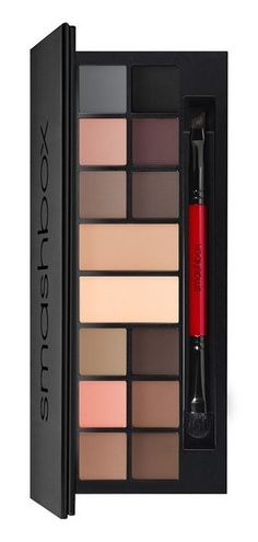 This stunning eye palette contains 12 wet/dry eyeshadows plus two double-size base shades that can be used as a liner, eyeshadow or brow powder. / @nordstrom #nordstrom