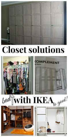 Closet makeover with #ikea #pax #organized easy solution.