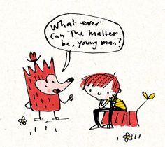 Fred Blunt Illustration
