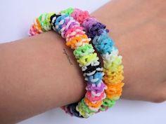 DIY Pulsera de gomitas Gominolas / Gumdrop bracelet