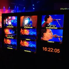 Behind the scenes for Thalles Roberto concert at Full Sail University