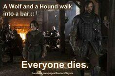 wolf and hound