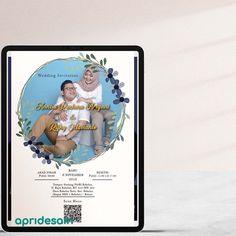E Invitation Wedding, E Invite, Digital, Frame, Frames, A Frame, Hoop, Picture Frames