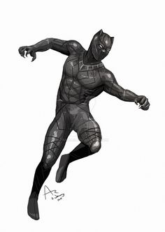 Just a quick Black Panther to get things warmed up!