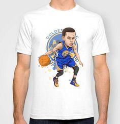 2016 soprt man t-shirt Stephen Curry cartoon fashion short-sleeve casual t- shirt basketball loose t shirt top tee 1640384e901