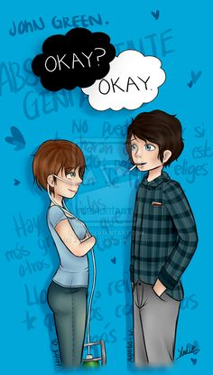 Bajo la misma estrella / The Fault in Our Stars by 27Leslie.deviantart.com on @deviantART