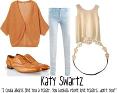 """Katy Swartz #1"" by buknerd on Polyvore"