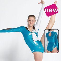 JUSTOGYM Justaucorps Manches longues de la marque agiva pour gymnastique df2eab2b6bf