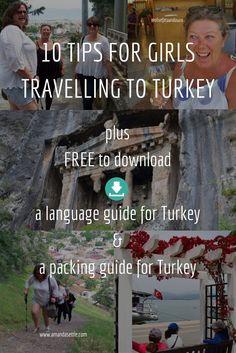 10 Tips for girls travelling to Turkey Turkey Vacation, Turkey Travel, Turkey Resorts, Travel Forecast, Turkey Culture, Marmaris Turkey, Visit Turkey, Europe Continent, Travel Checklist