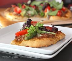 Shredded Beef Taco Pizza   my kitchen addiction