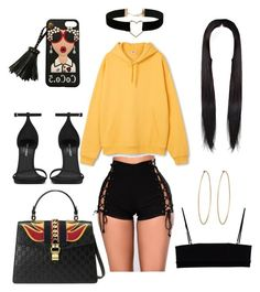 """Untitled #42"" by cryamilet19 on Polyvore featuring Social Anarchy, Alexander Wang, Yves Saint Laurent and Miss Selfridge"