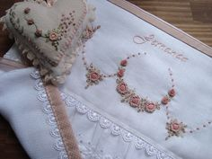 Beautiful Example of Very Fine Embroidery Work