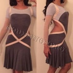 AMAZING ALEXANDER MCQUEEN DRESS! Ballet and cut out jersey dress. Amazing. Consider all offers. No trades. JJ Alexander McQueen Dresses