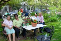 #GMCNYC Lend a Green Thumb Event New friends at the Convent Garden in Harlem.
