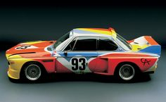 BMW Art Drive! show | Designer: Alexander Calder | Car: BMW 3.0 CSL