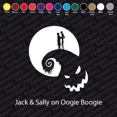 Nightmare Before Christmas Jack & Sally by FandomChasers on Etsy