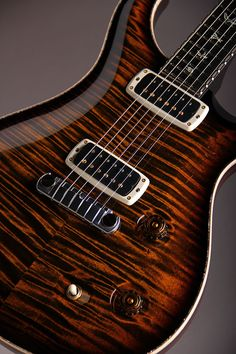 "Paul Reed Smith Collection Series 2014 McCarty 408 Tiger Eye Smoke Burst""Collection #137"""