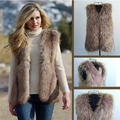 casual fur coats - Google Search