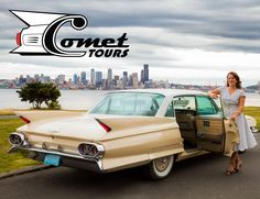 See the sites of Seattle in style - with your own personal concierge in a vintage American car!