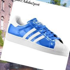 Blåbird White-Adidas Originals superstar 2 Men Patent Shoes HOT SALE! HOT PRICE!