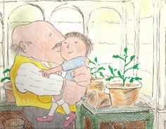 john burningham. this is from the really sad animation about the grandad isn't it?