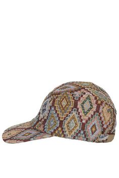 Tapestry Five Panel Cap - Festival Trimmings   - We Love