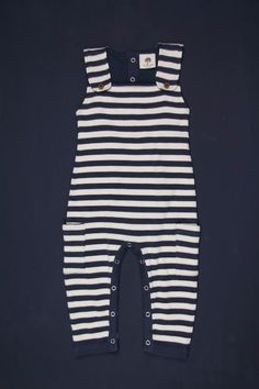 Stripe Overall // at Darling Clementine